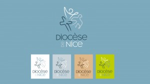 Logo du diocèse de Nice