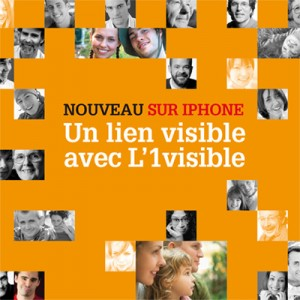 Campagne Flashez sur L'1visible