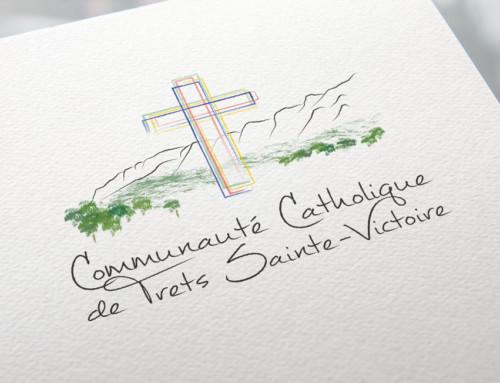 Logo Paroisse de Trets Sainte-Victoire